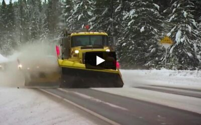 Winter Snow Plow Safety for North Idaho