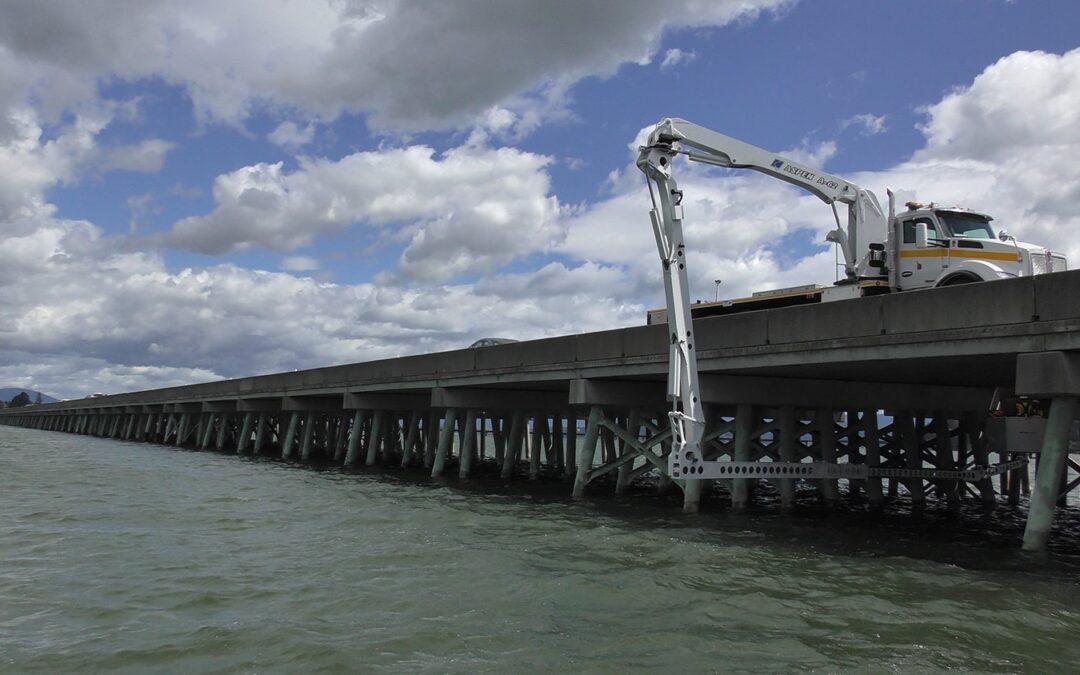 Long bridge construction 2021